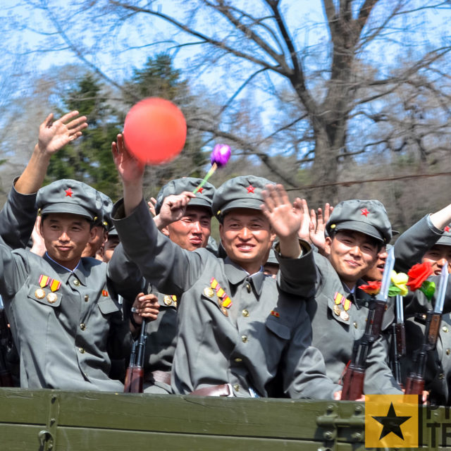 Fotografie-Militärparade-Geburtstag